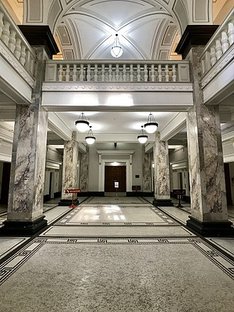 Brisbane City Hall - City Hall foyer
