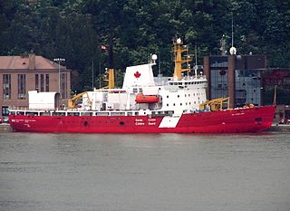 icebreaker of the Canadian Coast Guard