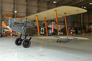 Bracing (aeronautics) - The World War I British Bristol F.2 is one of the few biplanes to ever have ventral cabane struts.