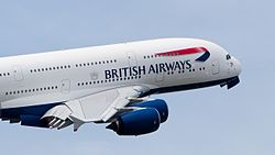 British Airways Airbus A380-841 F-WWSK PAS 2013 13.jpg