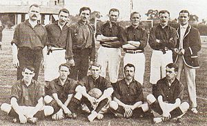 British Club (football) - British squad in 1903, the first championship.