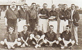 Primera Fuerza - British Club in 1903