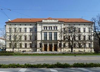 Janáček Academy of Music and Performing Arts - Image: Brno, Janáčkova akademi múzických umění
