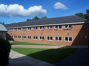 Brockenhurst College - The Errington Block.