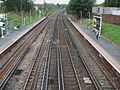 Brockley station high southbound.JPG