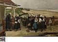 Brooduitdeling aan de weduwen en wezen te Katwijk, circa 1838 - circa 1907, Groeningemuseum, 0040345001.jpg