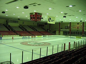 Walter Brown Arena - Image: Brown Arena 1