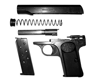 FN Model 1910 - Browning M 1910 disassembled