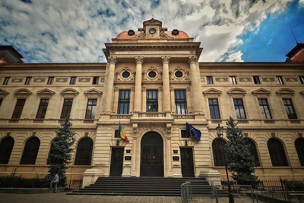 Bucharest - BNR Palace (Banca Națională Română) (28450072642)