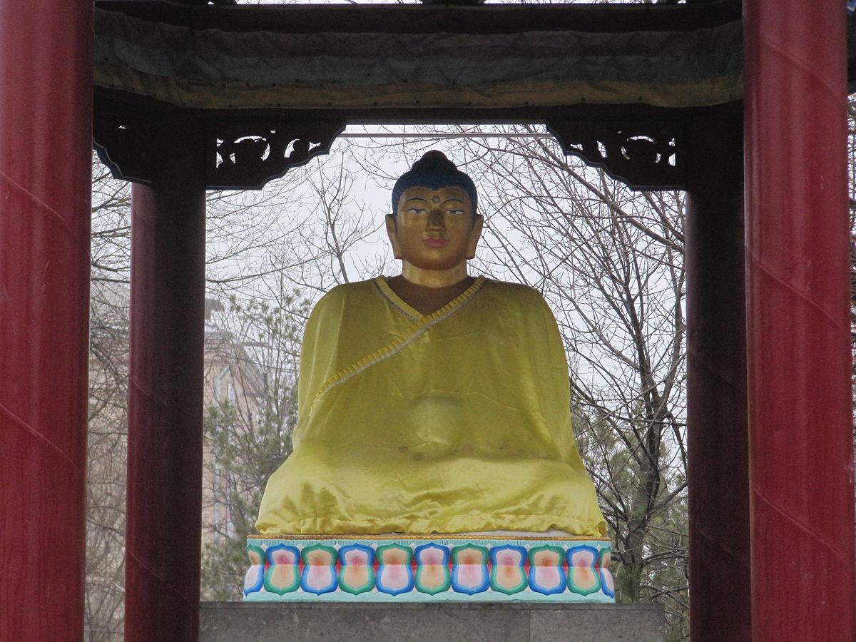 Видео осквернения статуи будды в элисте
