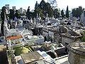 Buenos Aires iglesia del Pilar Vista cementerio Recoleta lou.jpg