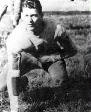 1915 College Football All-Southern Team - Bully Van de Graaff.