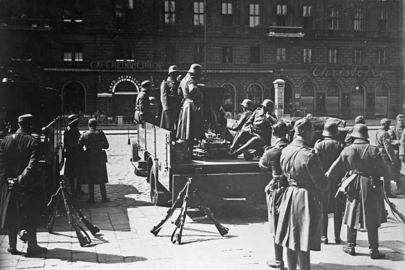 Bundesarchiv Bild 102-00805, Wien, Februarkämpfe, Bundesheer 2