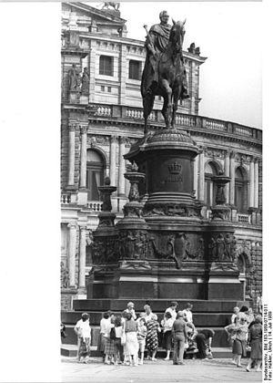 John of Saxony - John of Saxony Monument