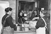 Notstandsküche in Berlin