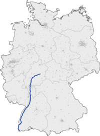 Bundesautobahn 5 map.png