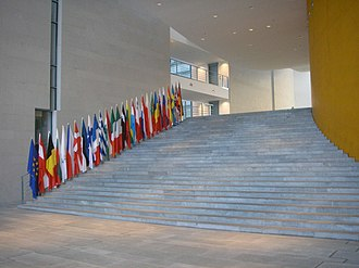 Federal Chancellery (Berlin) - Staircase