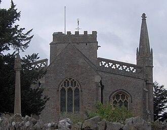 Burrington, Somerset - Image: Burrignton church