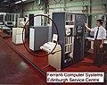 Burroughs B-475 disk drive at Ferranti Computer Systems Service Centre in Edinburgh 1980.jpg