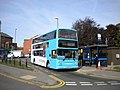 Bus at Potters Green terminus - geograph.org.uk - 3012686.jpg