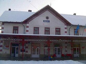 Buziaș - Buziaș train station