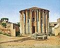 C. W. Eckersberg, Vesta Temple in Rome, 1814-1816,0204NMK, Nivaagaards Malerisamling.jpg