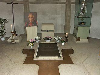 Clemens August Graf von Galen - The tomb of Clemens August Cardinal von Galen in Münster Cathedral.