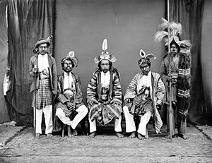 Buton - Portrait of a delegation from Buton