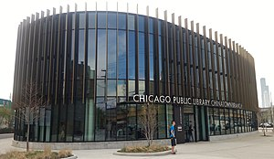 Chinatown, Chicago - Chinatown branch of the Chicago Public Library, 2016