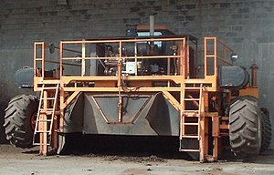English: Municipal biosolids composting facili...