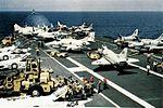CVW-10 aircraft on USS Intrepid (CVS-11) c1968.jpg
