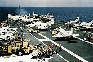 CVW-10 aircraft on USS Intrepid (CVS-11) c1968.jpg