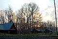 Cabins at sunrise (7018894117).jpg