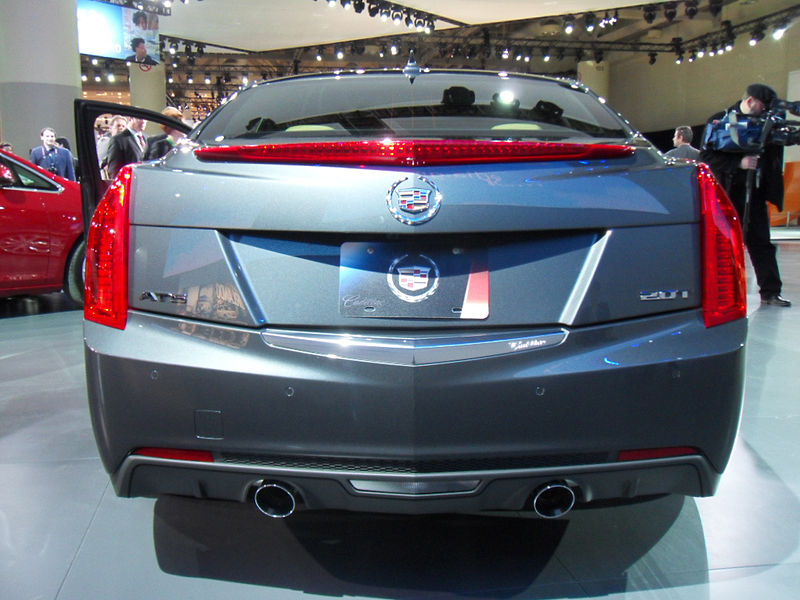 File:CadillacATS Rear.jpg