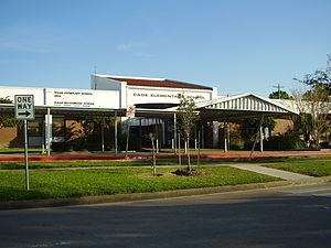 Cage Elementary School - The current Cage Elementary building, which opened in 1983