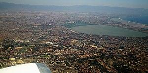 Cagliari plane
