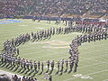 Cal Band performing pregame at 2008 Big Game 08.JPG