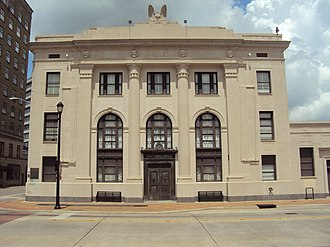 National Register of Historic Places listings in Calcasieu Parish, Louisiana - Image: Calcasieu Marine Bank, Lake Charles, LA