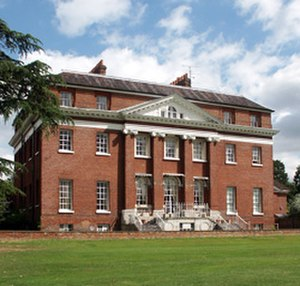 Calcot Park - Image: Calcot mansion