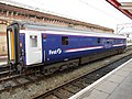 Caledonian Sleeper carriage at Crewe (2).JPG