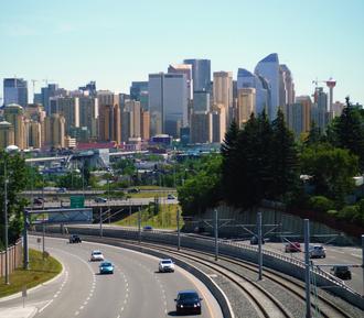 Calgary Region - Downtown Calgary skyline