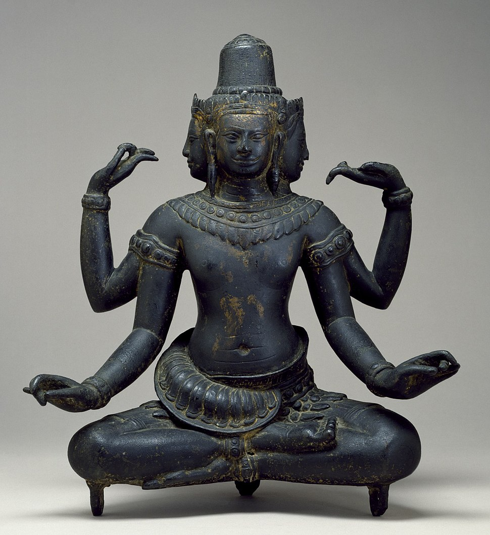 Cambodian - The Hindu God Brahma - Walters 542734