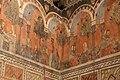 Camera della castellana di vergy, ciclo pittorico, 1350 circa 09.JPG