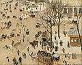 Camille Pissarro - La Place due Théâtre Français - Google Art Project.jpg