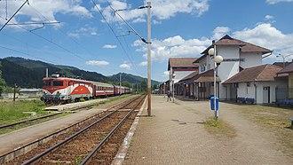Câmpulung Moldovenesc - Image: Campulung Moldovenesc station