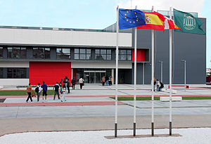 Miguel de Cervantes European University - Campus view