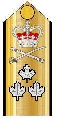 Canadian Vice-Admiral Shoulder Board
