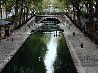 Canal Saint-Martin - Image: Canal Saint Martin 2