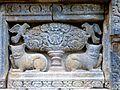 Candi Prambanan - 129 Kalpataru and Lions, Nandi Temple (12042278646).jpg
