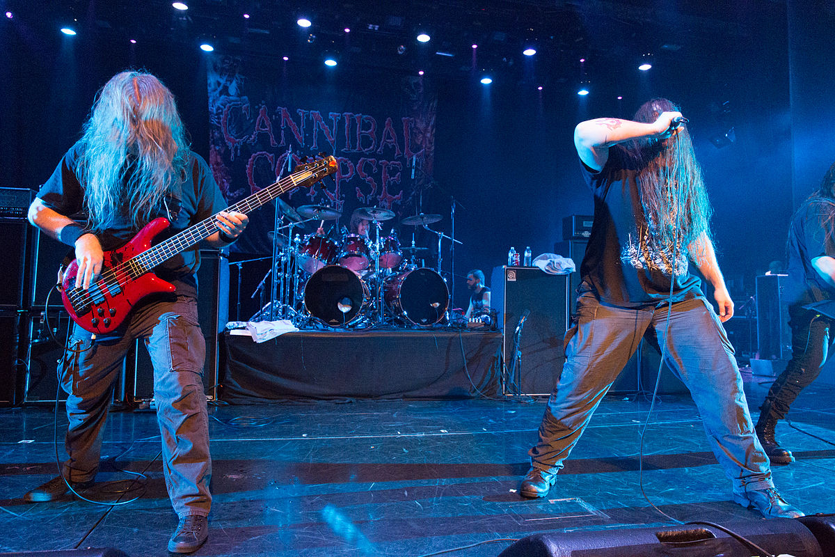 Cannibal Corpse Tampere